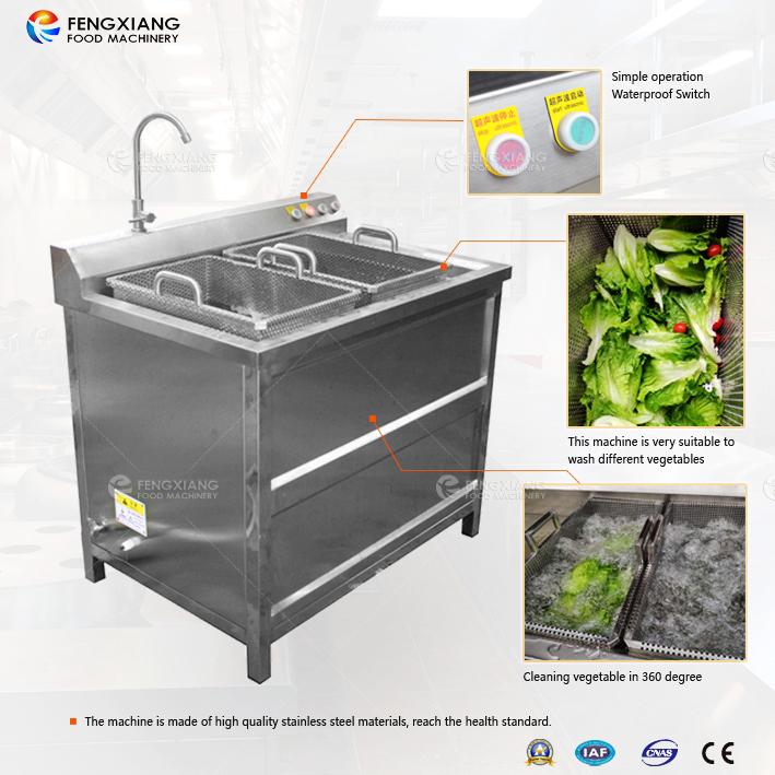 Bubble Ultrasonic Ozone Combined Vegetable Washing Machine
