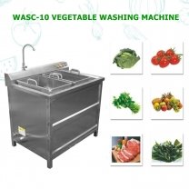 WASC-10 Bubble Ultrasonic Ozone Combined Vegetable Washing Machine