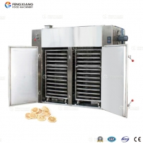 Large type potato chips lemon pieces drying machinery with double drying cars