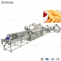 potato chips french fries frying making machinery industrial production machine line