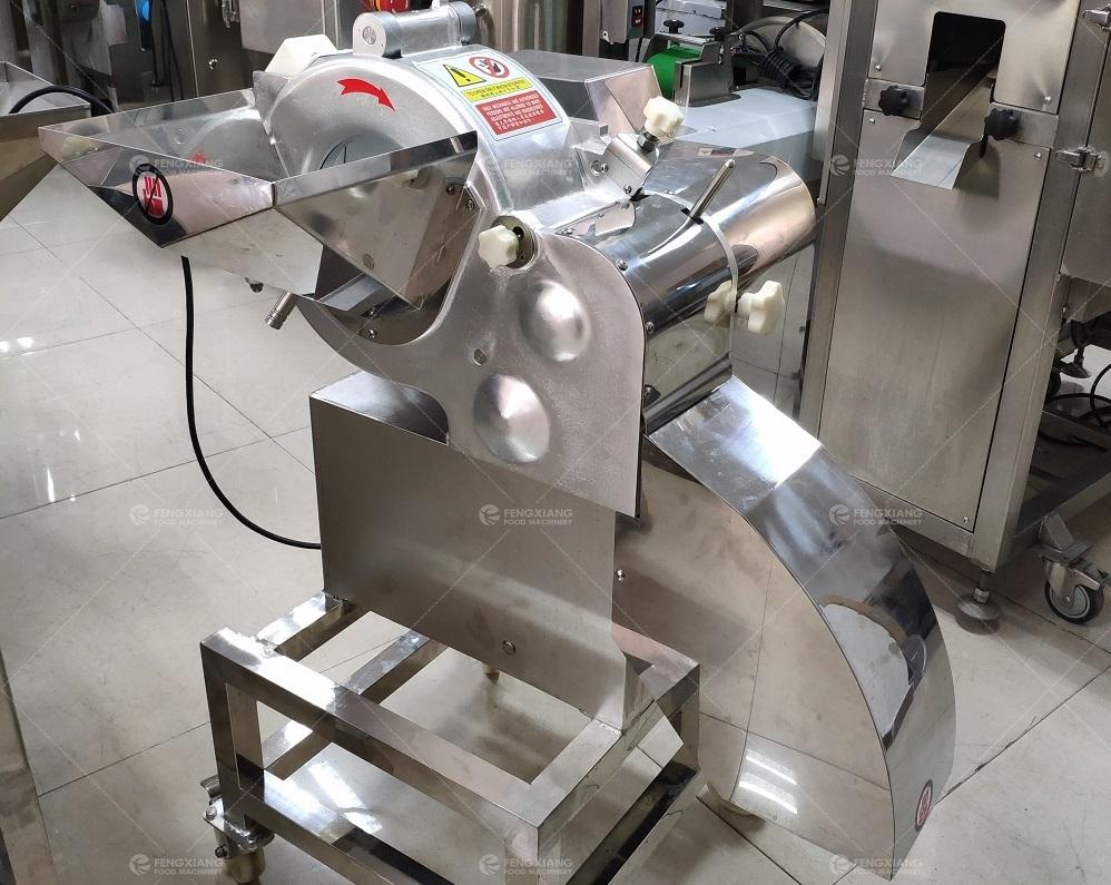 Automatic Mango Slicing Dicing Machine