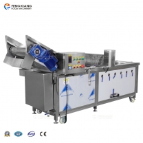 WA-1000 pre-cut spinach bubble washing machine manufacturer, pre-cut cabbage ozone washing machine