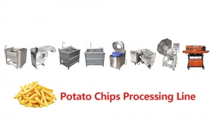 2019 Commercial Small Potato Chips French Fries Potatoes Making Machine Price
