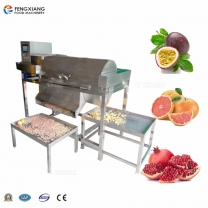 Pomegranate seed peeling machine Automatic pulp splitter Passion fruit peeling machine