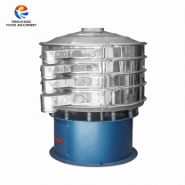 Round vibrating screen grading filter