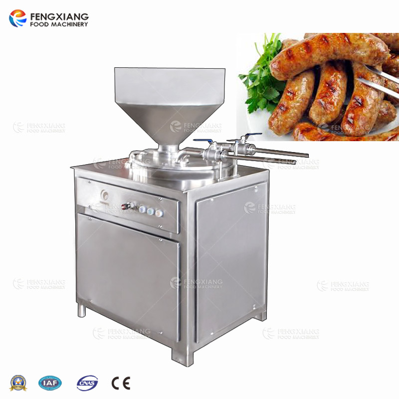 GS-30B Double Tube Type Automatic Sausage Filler Machine