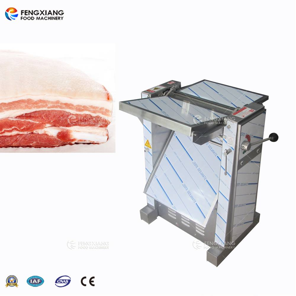 PSK-435 Pork Meat Skin Removing Peeling Machine