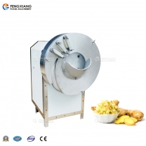 FC-503 Thickness Adjustable Ginger Shredder Cutting Machine