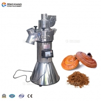 DF-35 Stainless Steel Chinese Ganoderma Grinder Continuous Feeding Crusher Maachine