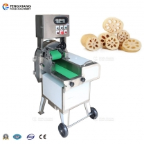 FC-305 3mm sliced lotus root vegetable cutting machine