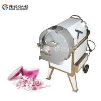 FC-312 Commercial Onion Shredder Onion Dice Cutting machine