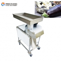 FC-613 Electric Big Cube Cutter Eggplant Dicing Cutting Machine