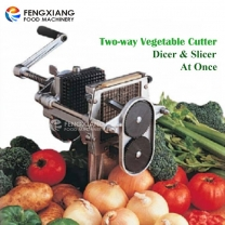 High Quality Commercial Manual Easy Dicer Two Way Vegetable Cutter