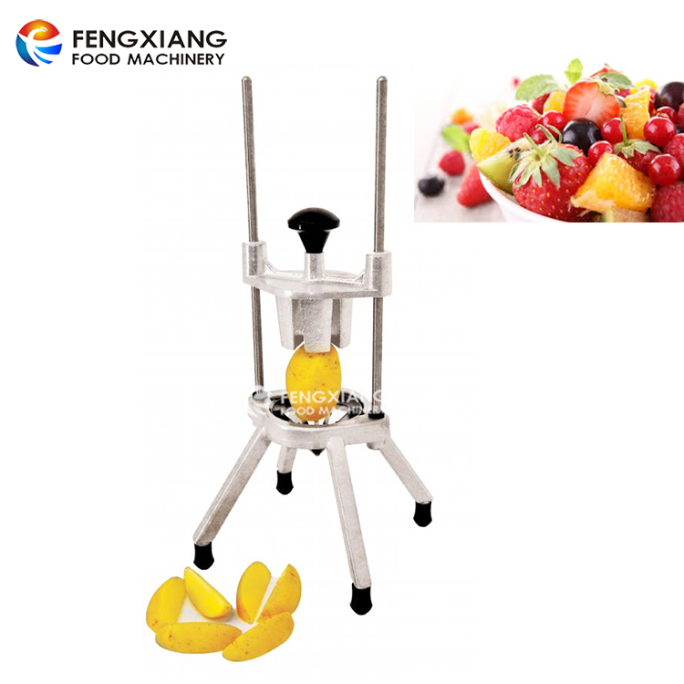 Quick Manual Fruit Wedger and Corer