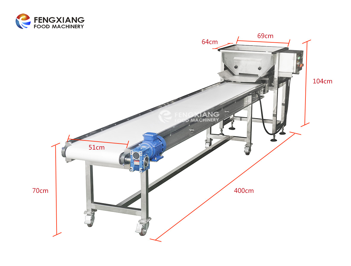 Automatic Horizontal Powder vibrating feeder conveyor