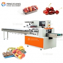 Fruit and Vegetable Packing Machine With Tray for Apple Cherry Tomato