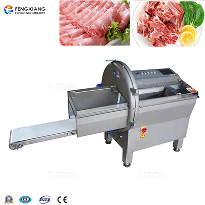FKP-25 Automatic Row Meat Slicing Machine Steak Bacon Ham Slicer