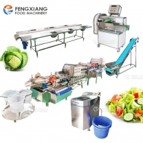 industrial leaf vegetable cutting washing machine carrot processing line