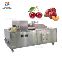 Double-channel plum  core removing machine cherry pitting machine
