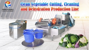 Vegetable processing line helps upgrade the fresh e-commerce industry!