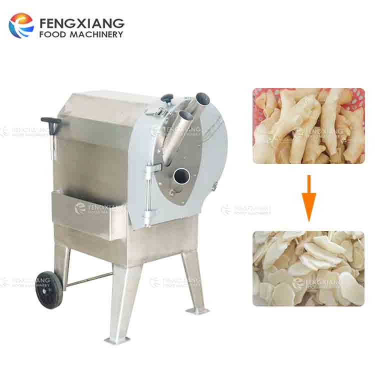 Multifunction Three-inlet Ginger Slicing Machine