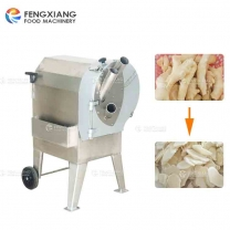 FC-312 Customized Multifunction Three-inlet Cutting Ginger Slicing Machine