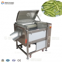 MSTP-80 Brush Roller Edamame Hair Removal and Washing Machine