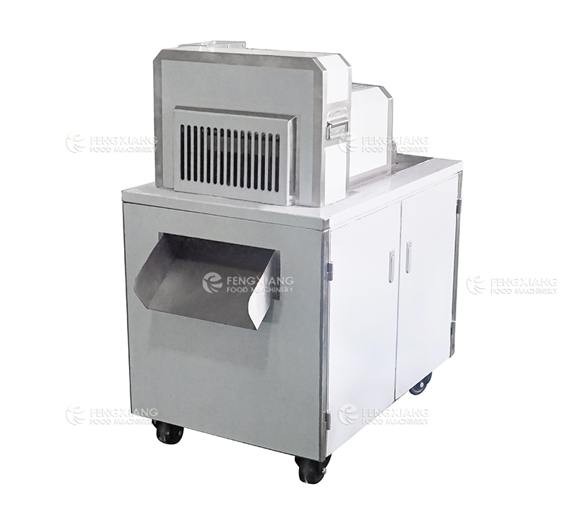 Two-dimensional Frozen Pork Ribs Chopping Machine