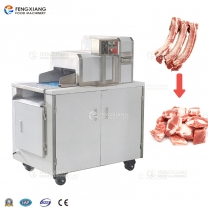 FZD-360 Two-dimensional Frozen Meat Cutting Slicer Pork Ribs Chopping Machine