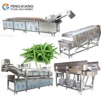 string bean washing blanching drying machine Green Bean processing production line
