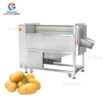 MSTP-500 Customized Brush Type Root Vegetable Washing Peeling Machine