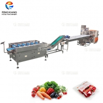 Fruit and Vegetable Weighing Lifting Packaging Production Line