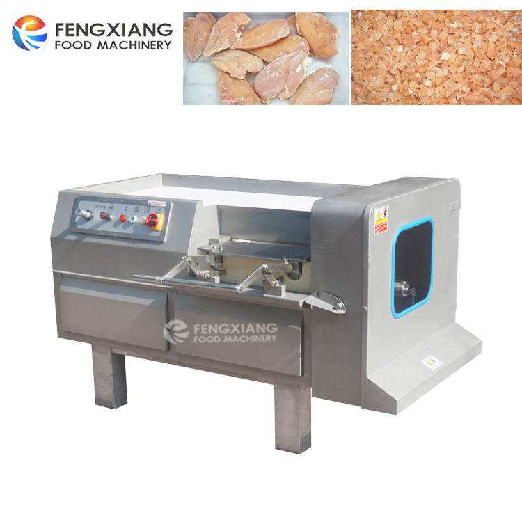 FX-350 10mm Frozen Meat dicing Machine Chicken Dicer cutting machine