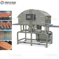 Salmon Bevel Cutting Machine Meat Chicken Breast Slicing Machine