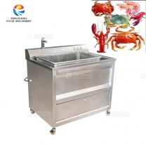 High Quality Ultrasonic Washing Machine for Seafood Aquatic Products