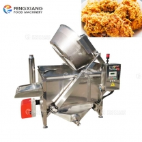 FYQ Commercial Automatic Deoiling Discharge Fried Food Frying Machine
