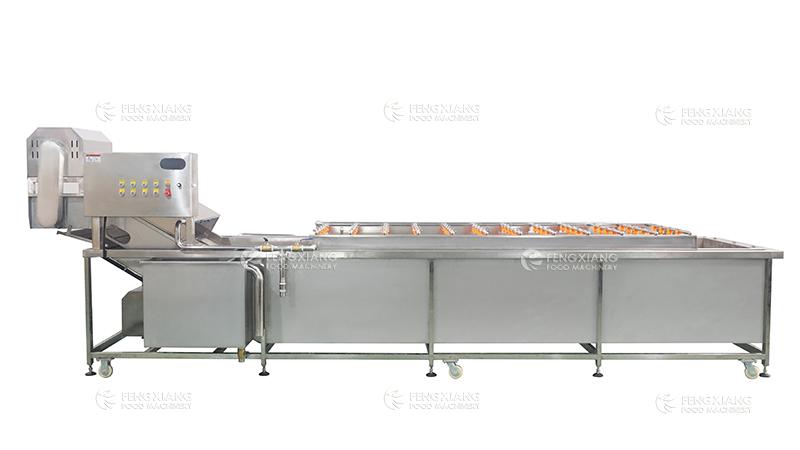 Industrial Large Vegetable Fruit Rotating Spray Washing Machine