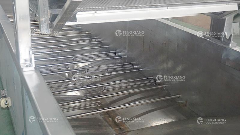 chips blanching machine