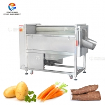 MSTP-500 Brush Roller Root Potato Carrot Cassava Washing and Peeling Machine