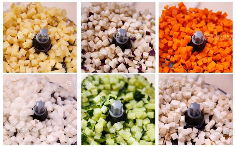 CommercialVegetable and Fruit Dicing Machine
