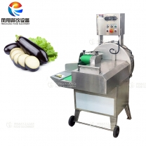 Fruit and Vegetable Cutting Machine Eggplant Slicing Machine Price