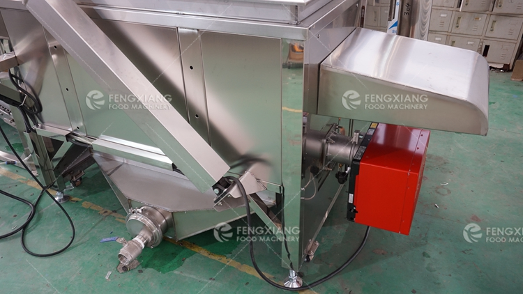 Industrial Food Frying Production Line