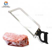 Kitachen Stainless Steel Manual Meat Bone Ribs Saw Cutter