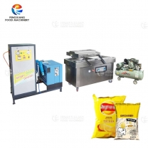 Vacuum Packaging Machine With Nitrogen Filling For Snack Food