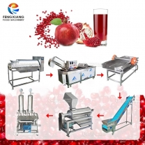 Pomegranate Passionfruit Fruit Juice Extractor Production Making Extraction Line