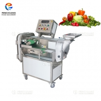 FC-301L Double-head Automatic Multifunction Vegetable&Fruit Cutting Machine
