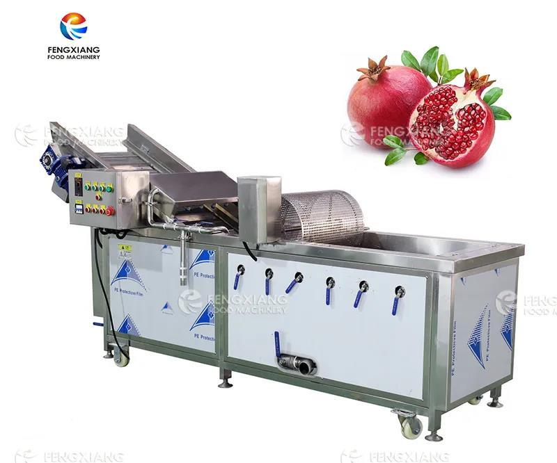 Pomegranate washing machine