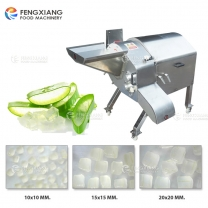 CD-1500 Adjustable Cutting Thickness Aloe Cube Cutting Dicer Dicing Machine