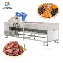 Automatic Dates Dry Washing Machine Date Polishing Cleaning Machine