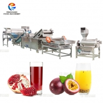 Industrial Pomegranate Passion Fruit Juice Making Machines Processing Line